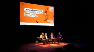 Speaking at the Festival of Dangerous Ideas with fellow panellists Ming Long, Jennifer Whelan and Chair, Sarah Dingle