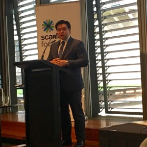 Speaking at the Scanlon Foundation's Australians Today report launch