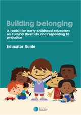 Our new 'Building belonging' resource for early childhood educators