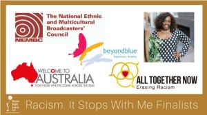 Racism. It Stops With Me Awards finalists