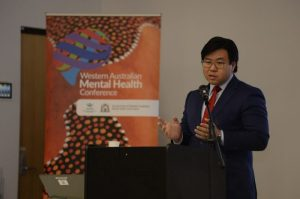 Speaking at the WA Multicultural Mental Health Forum on Multiculturalism, mental health and the psychology of racism